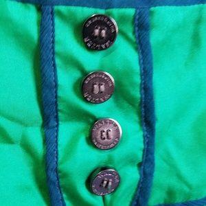 Walter Baker Dresses - Walter Baker 100% Silk Green Keyhole Dress Size 10